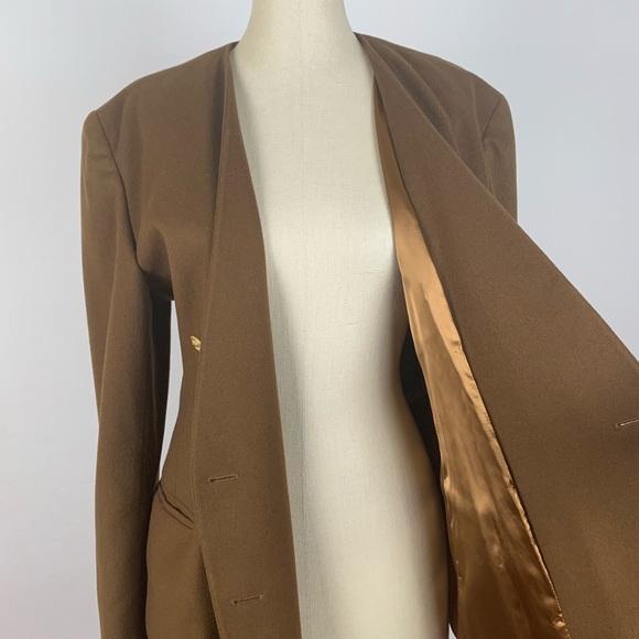 Escada Jackets & Blazers - Escada Cashmere Peacoat